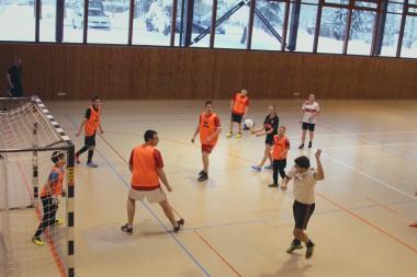Fussballspiel bei Sport am Sonntag